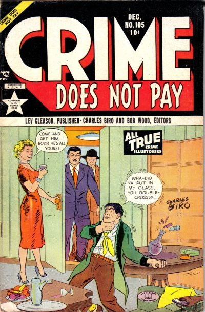 Cover for Crime Does Not Pay (Lev Gleason, 1942 series) #105