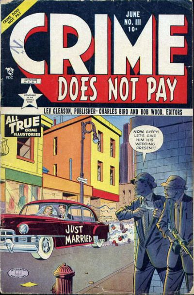 Cover for Crime Does Not Pay (Lev Gleason, 1942 series) #111