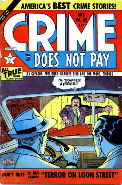 Cover for Crime Does Not Pay (Lev Gleason, 1942 series) #115
