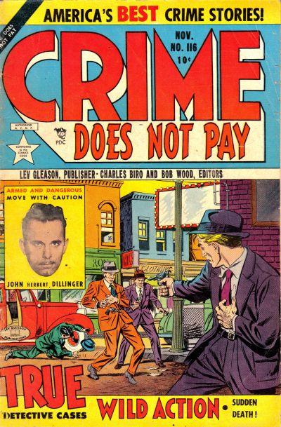 Cover for Crime Does Not Pay (Lev Gleason, 1942 series) #116