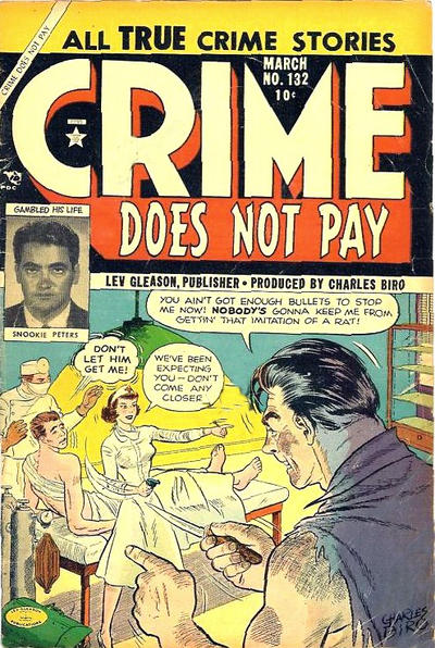 Cover for Crime Does Not Pay (Lev Gleason, 1942 series) #132