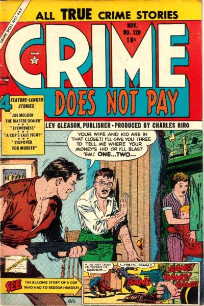 Cover for Crime Does Not Pay (Lev Gleason, 1942 series) #139