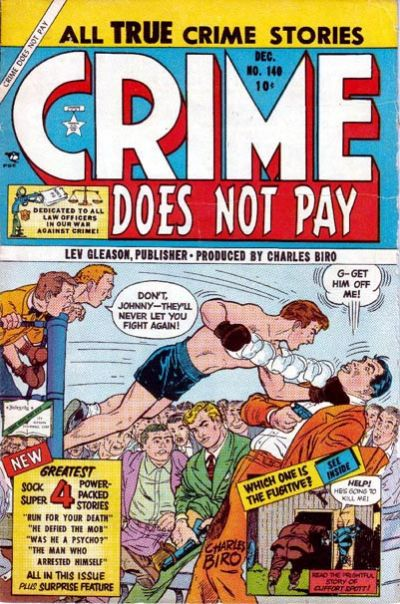 Cover for Crime Does Not Pay (Lev Gleason, 1942 series) #140