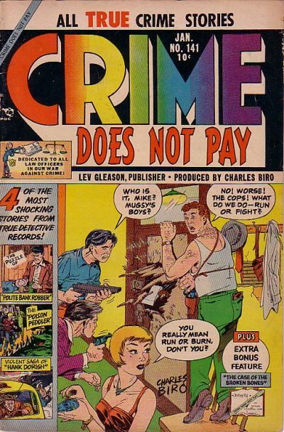 Cover for Crime Does Not Pay (Lev Gleason, 1942 series) #141