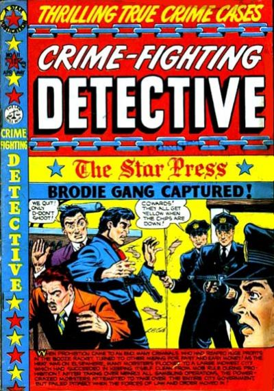 Cover for Crime Fighting Detective (Star Publications, 1950 series) #11