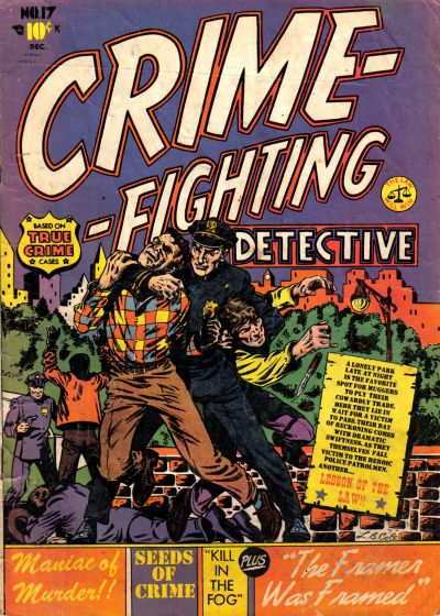 Cover for Crime Fighting Detective (Star Publications, 1950 series) #17