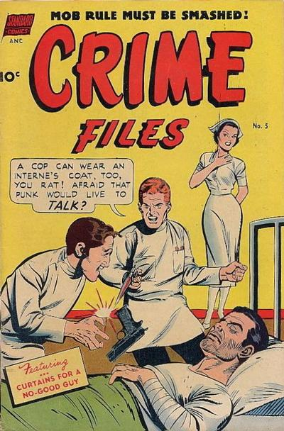 Cover for Crime Files (Pines, 1952 series) #5