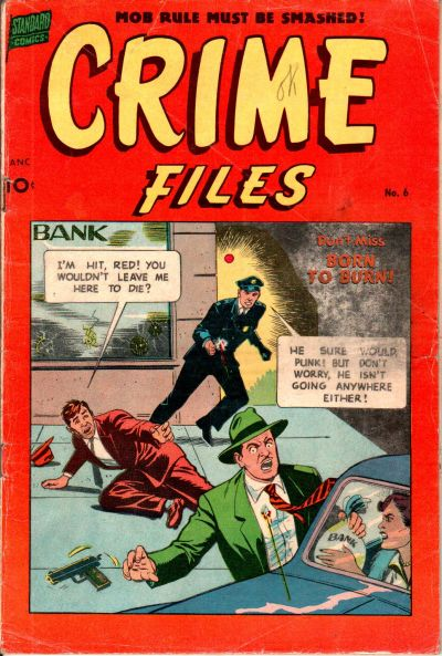 Cover for Crime Files (Pines, 1952 series) #6