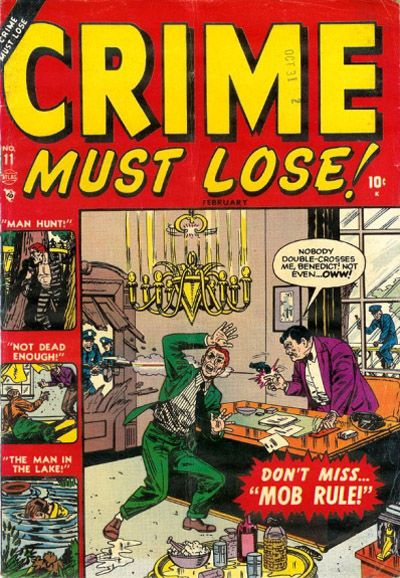 Cover for Crime Must Lose (Marvel, 1950 series) #11