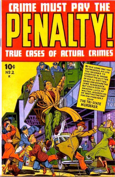 Cover for Crime Must Pay the Penalty (Ace Magazines, 1948 series) #2