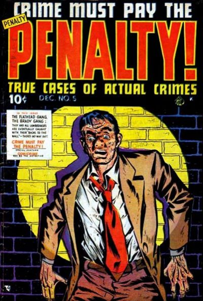 Cover for Crime Must Pay the Penalty (Ace Magazines, 1948 series) #5