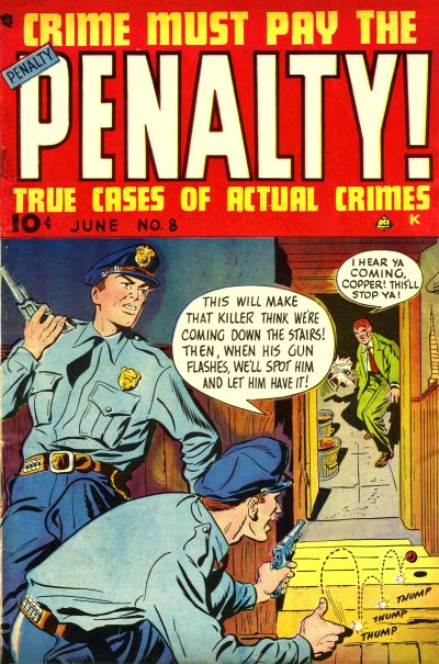 Cover for Crime Must Pay the Penalty (Ace Magazines, 1948 series) #8