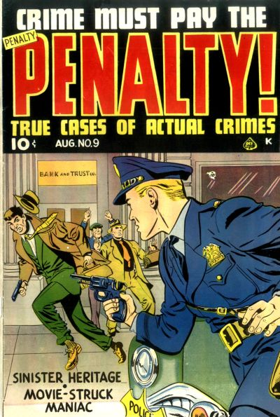 Cover for Crime Must Pay the Penalty (Ace Magazines, 1948 series) #9