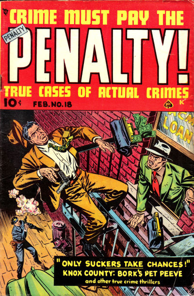 Cover for Crime Must Pay the Penalty (Ace Magazines, 1948 series) #18