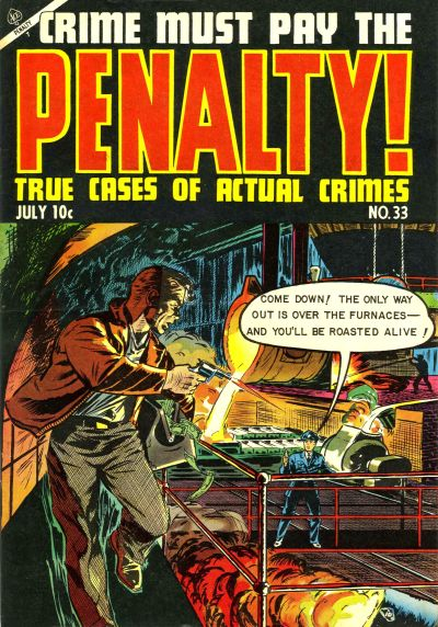 Cover for Crime Must Pay the Penalty (Ace Magazines, 1948 series) #33