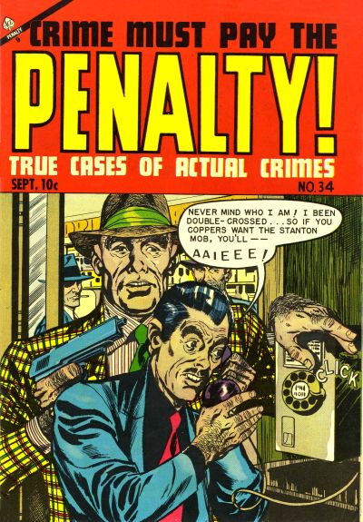 Cover for Crime Must Pay the Penalty (Ace Magazines, 1948 series) #34
