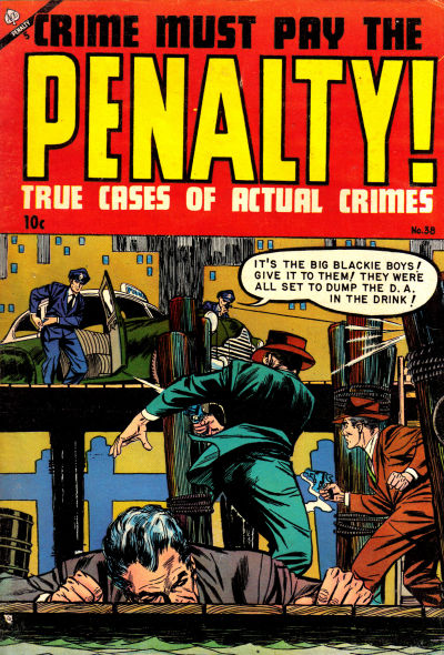 Cover for Crime Must Pay the Penalty (Ace Magazines, 1948 series) #38