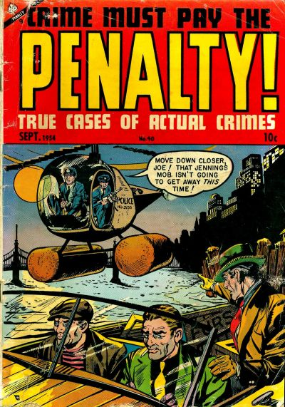 Cover for Crime Must Pay the Penalty (Ace Magazines, 1948 series) #40