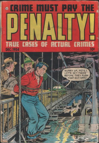 Cover for Crime Must Pay the Penalty (Ace Magazines, 1948 series) #42