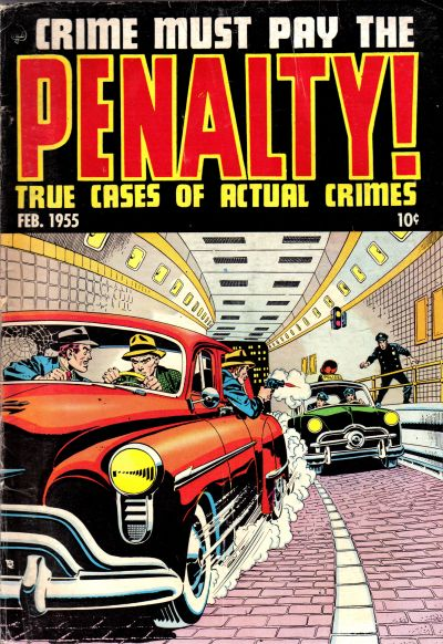 Cover for Crime Must Pay the Penalty (Ace Magazines, 1948 series) #43