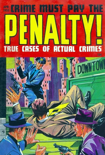 Cover for Crime Must Pay the Penalty (Ace Magazines, 1948 series) #44