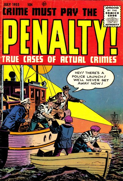 Cover for Crime Must Pay the Penalty (Ace Magazines, 1948 series) #46