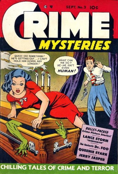 Cover for Crime Mysteries (Ribage, 1952 series) #3