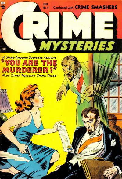 Cover for Crime Mysteries (Ribage, 1952 series) #9