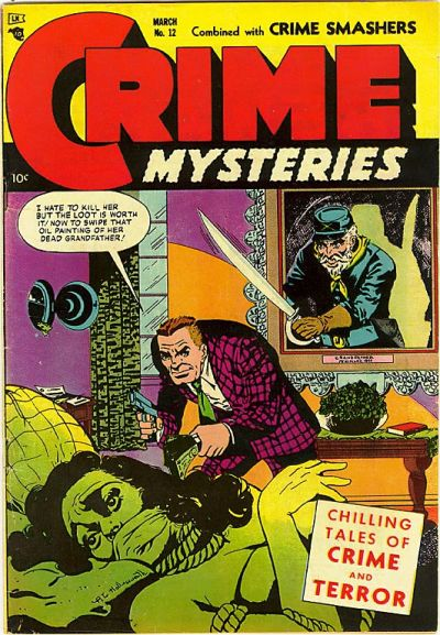 Cover for Crime Mysteries (Ribage, 1952 series) #12