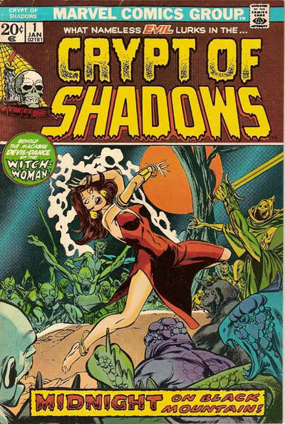Cover for Crypt of Shadows (Marvel, 1973 series) #1
