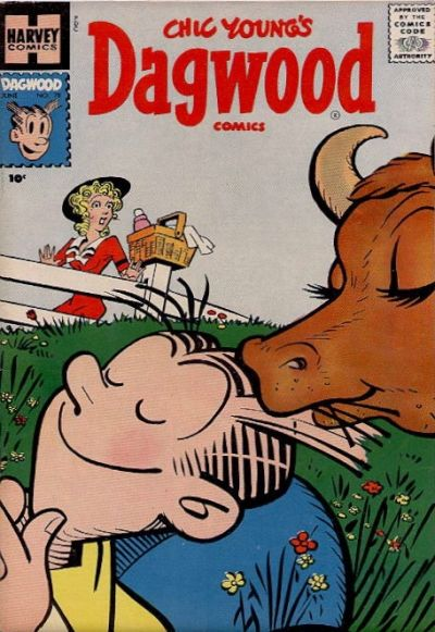 Cover for Chic Young's Dagwood Comics (Harvey, 1950 series) #78