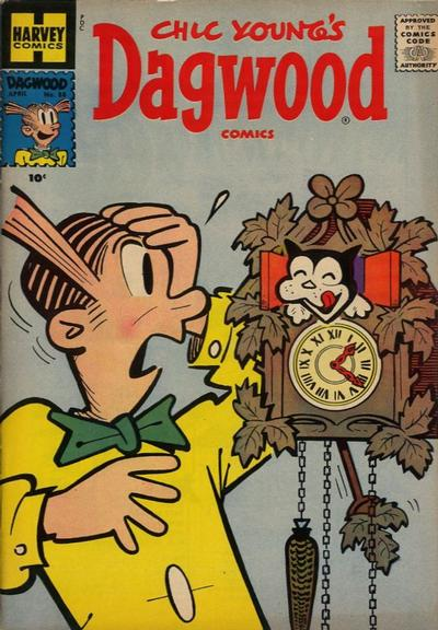Cover for Chic Young's Dagwood Comics (Harvey, 1950 series) #88