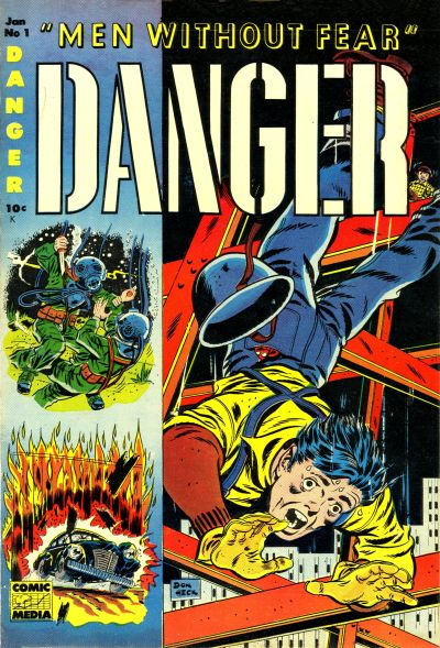 Cover for Danger (Comic Media, 1953 series) #1