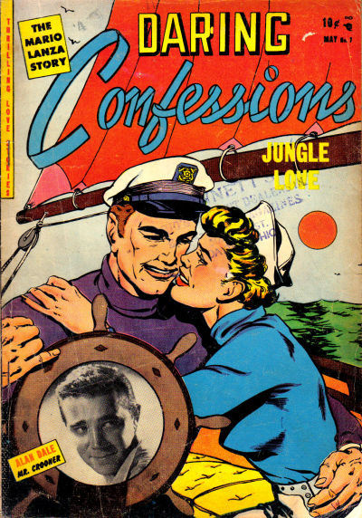 Cover for Daring Confessions (Youthful, 1952 series) #7
