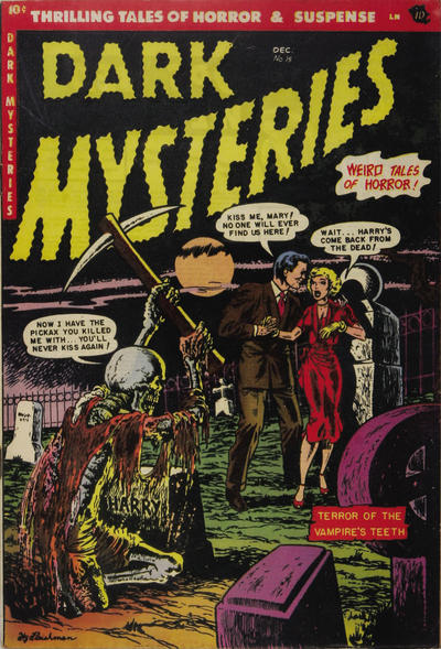 Cover for Dark Mysteries (Master Comics, 1951 series) #15