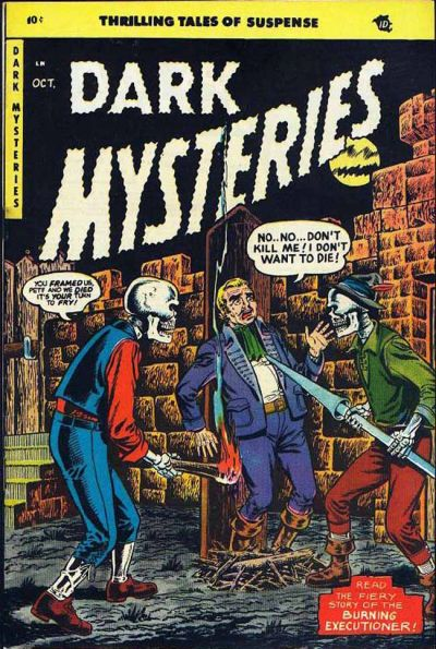 Cover for Dark Mysteries (Master Comics, 1951 series) #20