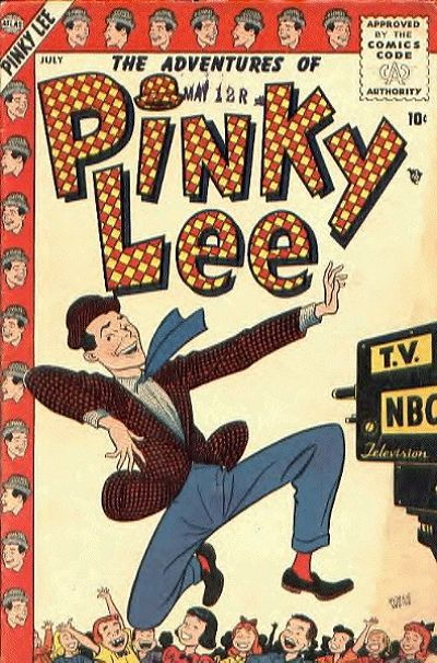 Cover for Pinky Lee (Marvel, 1955 series) #1
