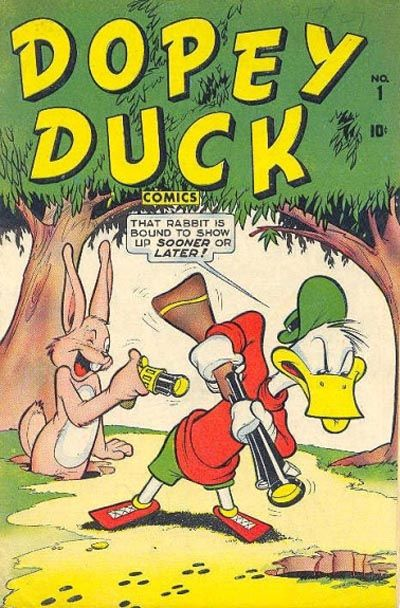 Cover for Dopey Duck (Marvel, 1945 series) #1