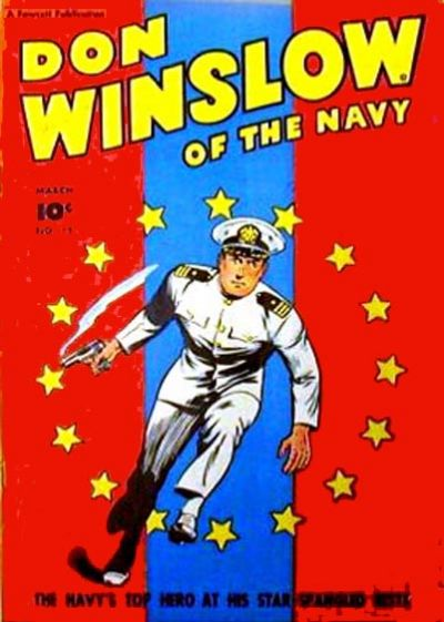 Cover for Don Winslow of the Navy (Fawcett, 1943 series) #55