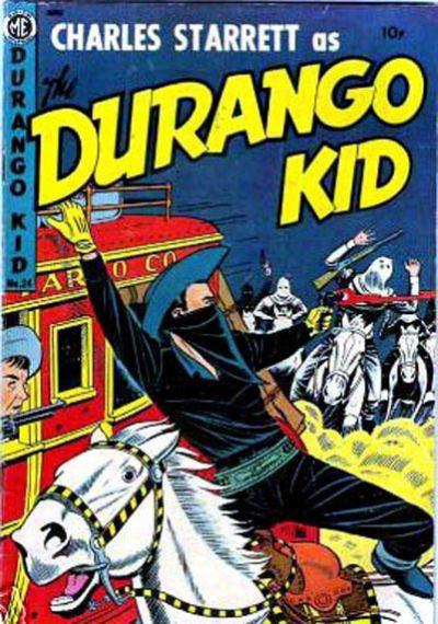 Cover for Charles Starrett as the Durango Kid (Magazine Enterprises, 1949 series) #24
