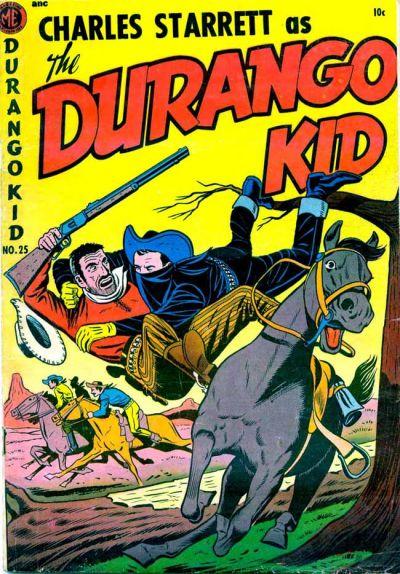 Cover for Charles Starrett as the Durango Kid (Magazine Enterprises, 1949 series) #25