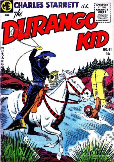 Cover for Charles Starrett as the Durango Kid (Magazine Enterprises, 1949 series) #41