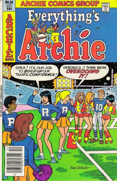 Cover for Everything's Archie (Archie, 1969 series) #98