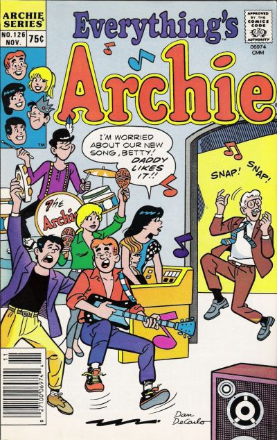 Cover for Everything's Archie (Archie, 1969 series) #126