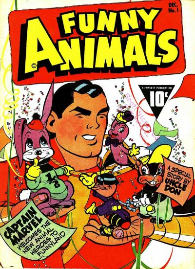 Cover for Fawcett's Funny Animals (Fawcett, 1942 series) #1
