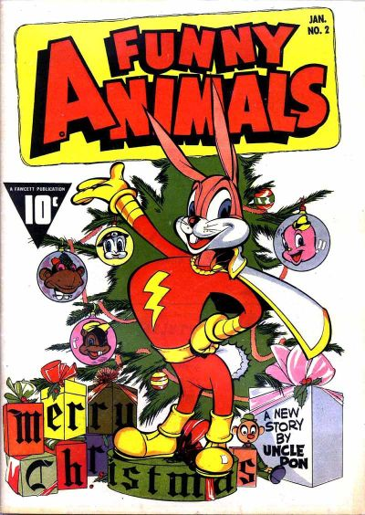 Cover for Fawcett's Funny Animals (Fawcett, 1942 series) #2