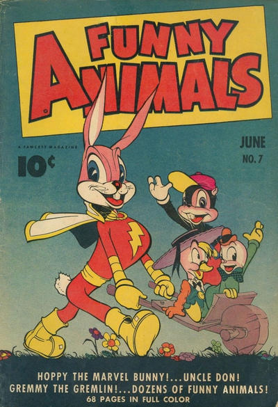 Cover for Fawcett's Funny Animals (Fawcett, 1942 series) #7