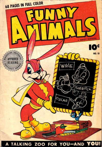 Cover for Fawcett's Funny Animals (Fawcett, 1942 series) #10