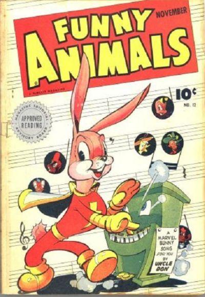 Cover for Fawcett's Funny Animals (Fawcett, 1942 series) #12