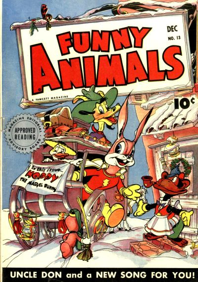 Cover for Fawcett's Funny Animals (Fawcett, 1942 series) #13